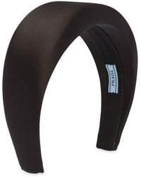 Prada Classic Headband - Black