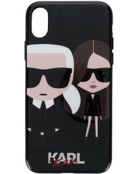 Karl Lagerfeld - X Kaia Printed Iphone X Case - Lyst