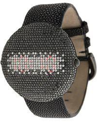 Christian Koban Clou Black Diamond Watch