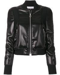 Paco Rabanne Coated Jacket - Black