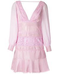 Martha Medeiros Francesa Otilia Short Dress - Pink