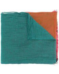 Yohji Yamamoto - Colour Block Scarf - Lyst