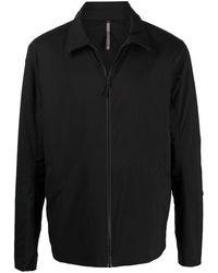 Veilance Giacca-camicia con colletto a punta - Nero