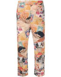 Chufy Moray Cropped Pants - Multicolor