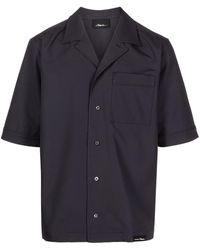3.1 Phillip Lim Kickin It Shirt - ブルー