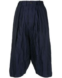 Forme D'expression Tailored Sarouel Pants - Blue