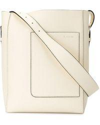 Valextra ポケット ハンドバッグ - ホワイト