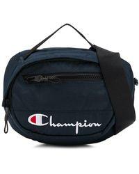 Champion Logo Belt Bag - Blue