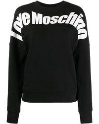 Love Moschino - Толстовка С Логотипом - Lyst