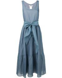 Max Mara - Tiered Midi Dress - Lyst