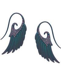 Noor Fares - Angel Wings Earrings - Lyst