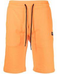 Paul & Shark ドローストリング トラックショーツ - オレンジ