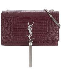 Saint Laurent - Monogram Chain Bag - Lyst