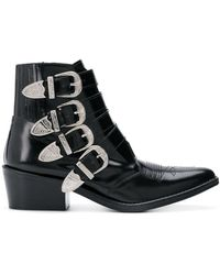 Toga Aj006 Ankle Boots - Black