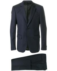 Givenchy - Contrast Lapel Two Piece Suit - Lyst