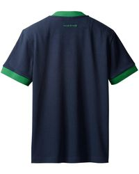 adidas X Wales Bonner Vネック Tシャツ - ブルー