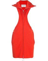 Rudi Gernreich Pinafore Dress - Orange