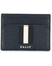Bally カードケース - ブルー