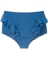 Clube Bossa Hopi Hot Pant Bikini Bottom - Blue