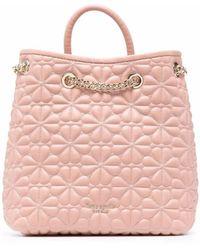 Kate Spade Маленький Рюкзак С Тиснением - Розовый