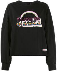 Giamba - Sequin-embellished Sweatshirt - Lyst