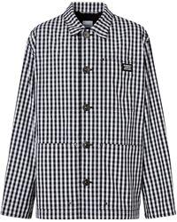 Burberry - Куртка-рубашка В Клетку Гингем - Lyst