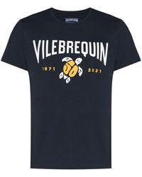 Vilebrequin Anniversary プリント Tシャツ - ブルー
