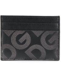 Dolce & Gabbana Verfraaide Pasjeshouder - Zwart