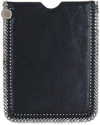 Stella McCartney Falabella Tablet Pouch - Black