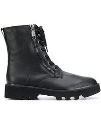 Calvin Klein Ботинки В Стиле Милитари - Черный
