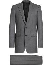 Burberry ツーピース スーツ - グレー