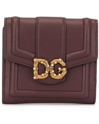 Dolce & Gabbana - フラップ財布 - Lyst