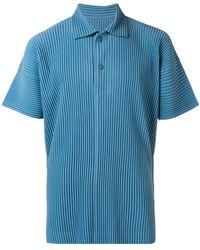 Homme Plissé Issey Miyake - Short Sleeve Polo Shirt - Lyst