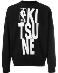 Maison Kitsuné - Felpa 'Maison Kitsune x NBA NBA' - Lyst