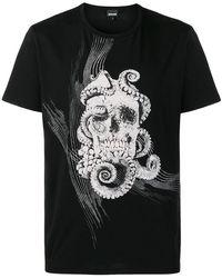 Just Cavalli - Skull T-shirt - Lyst