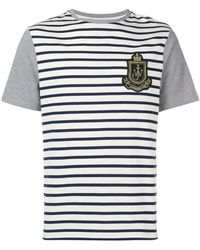 JW Anderson - Striped Logo T-shirt - Lyst