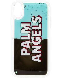 Palm Angels Liquid Effect Iphone Xr Case - White