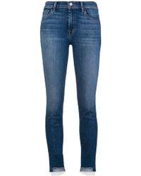 J Brand - Mesh Detail Skinny Jeans - Lyst