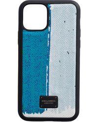 Dolce & Gabbana Чехол Для Iphone 11 Pro - Синий