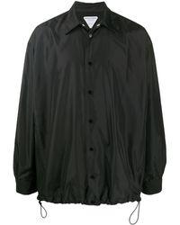 Bottega Veneta Пальто С Кулиской - Черный