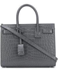 Saint Laurent Мини-сумка Sac De Jour - Серый