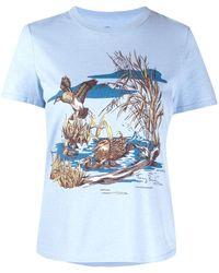 Tory Burch Duck's Pond Tシャツ - ブルー