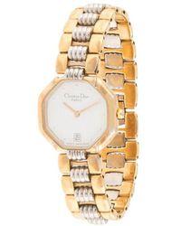Dior プレオウンド D48-133 クォーツ 腕時計 - メタリック
