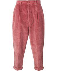 AMI Oversized Broek - Roze