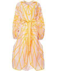 Yuliya Magdych - Oversized Bell Sleeves Dress - Lyst