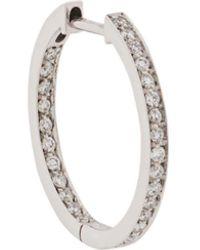 Vanrycke Diamond Embellished Hoop Earring - Multicolour