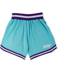 Stadium Goods Elasticated Mesh Shorts - Blue