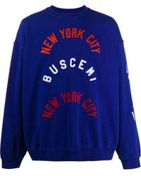 Buscemi オーバーサイズ セーター - ブルー