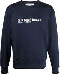IRO Толстовка С Надписью Surf Beach - Синий