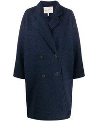 Mara Hoffman Button-front Coat - Blue